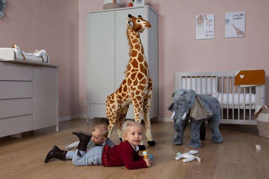 Zabawki afrykańskie - wielki słoń zabawka - dekoracja pokoju dla dzieci