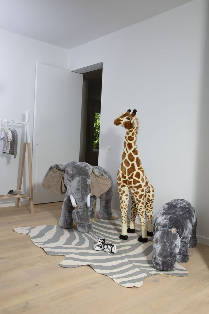 Zabawki afrykańskie - żyrafa zabawka - dekoracja pokoju dla dzieci