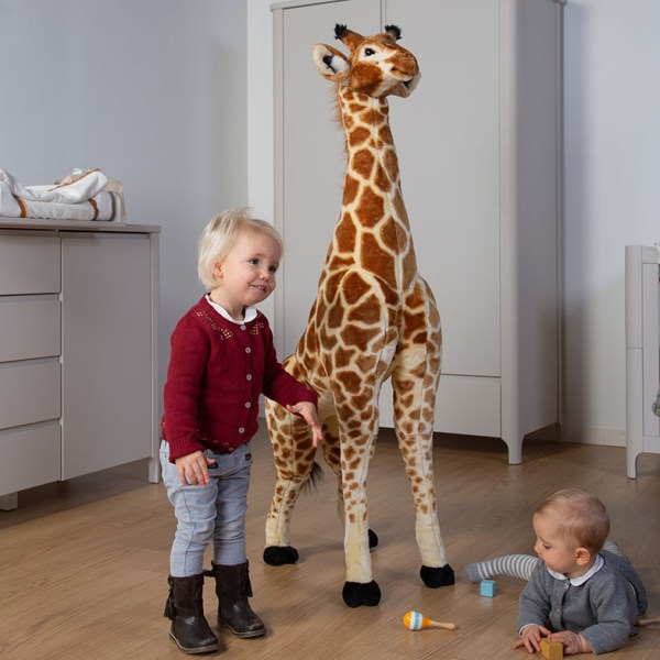 Żyrafa - wielka dekoracja - maskotka zabawka dla dzieci