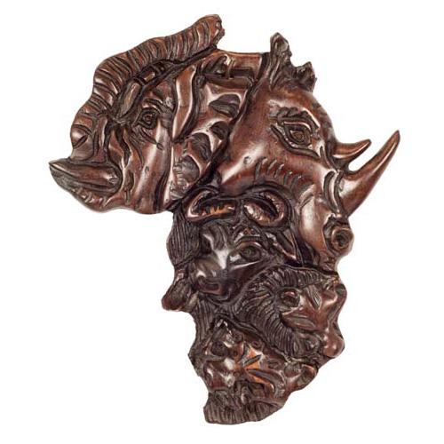 Afrykańskie dekoracje