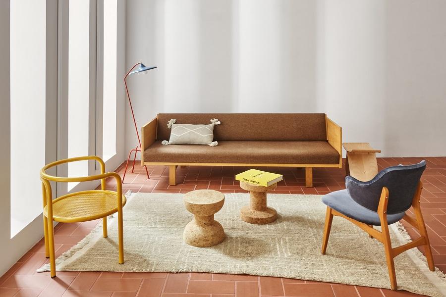 Kolekcja wełnianych dywanów - Shuka Sandstone - afrykańskie dekoracje