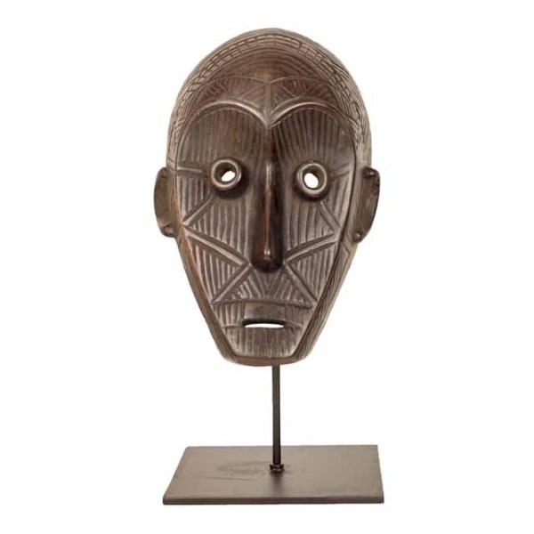Maska plemienna Dan z Wybrzeża Kości Słoniowej