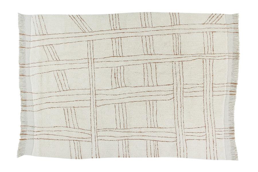Shuka Seashell wełniany dywan z afrykańskiej kolekcji - na podłogę