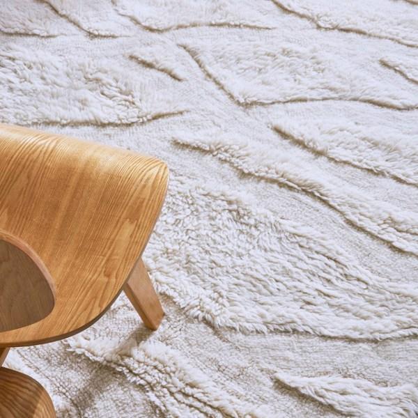 Wełniany dywan Enkang Ivory - afrykańska kolekcja - afrykańskie wnętrza