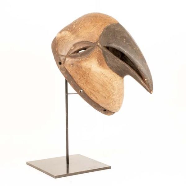 Drewniana maska afrykańska Kogut