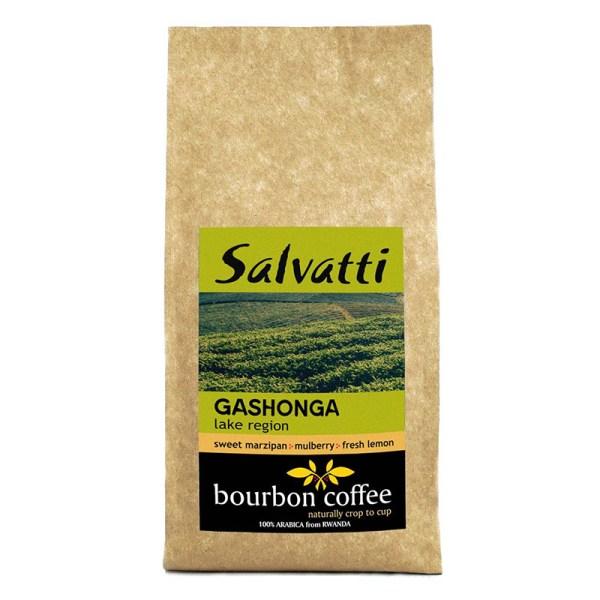 Afrykańska kawa ziarnista Gashonga 250 g