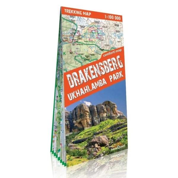 Mapa trekkingowa Drakensberg i Park Ukhahalamba