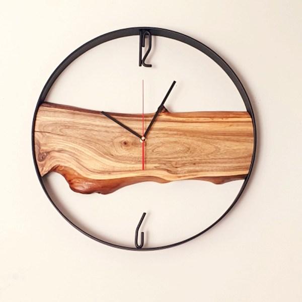 Zegar ścienny w afrykańskim stylu Loft