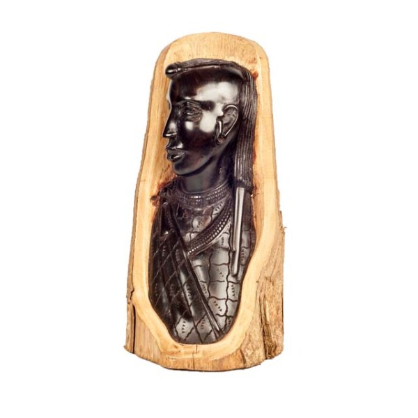 Drewniana rzeźba z Afryki