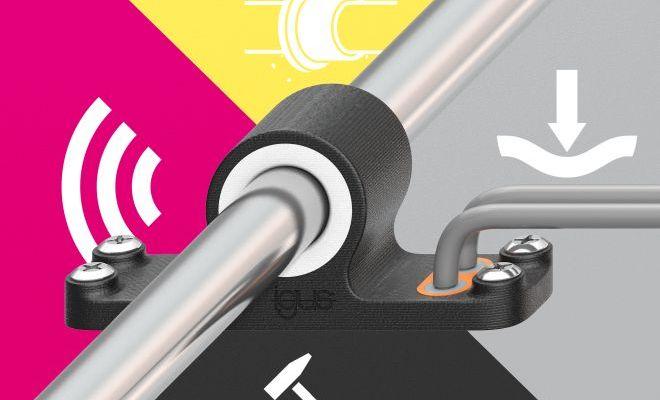Dzięki drukowi 3D 4K, wielofunkcyjne komponenty mogą być produkowane ekonomicznie i szybko podczas jednego etapu produkcji. (Źródło: igus)