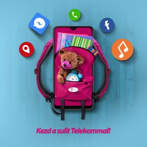 Telekom Back2School kampány web banner