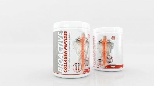 Bioactive Collagen Peptides label design 6
