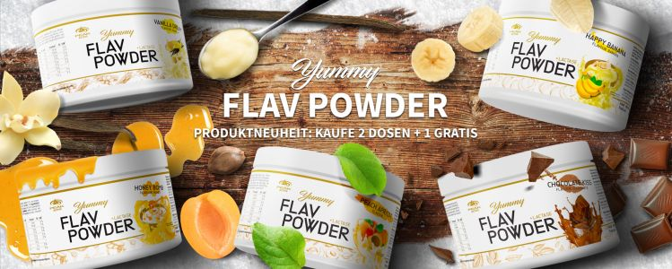 Yummy Fav Powder web banner