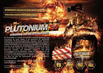 Plutonium 2.0 katalóg oldal design