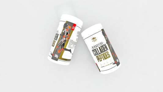 Bioactive Collagen Peptides label design 3