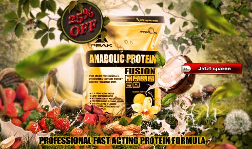 Anabolic Protein Fusion Header