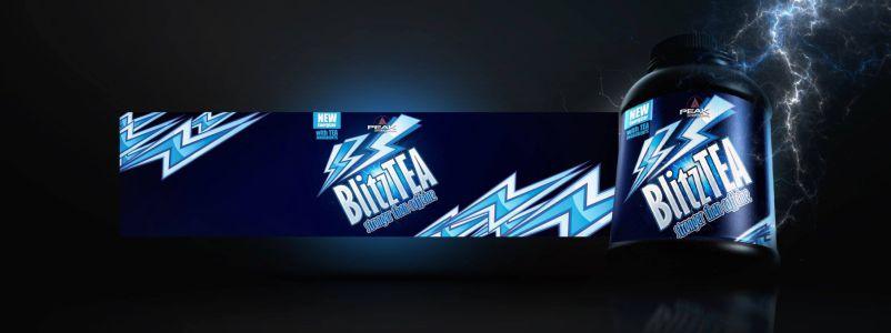 BlitzTea csomagolás design
