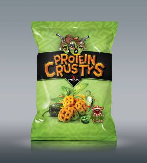 Protein Crustys csomagolás design