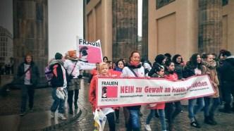 One Billion Rising Brandenburger Tor