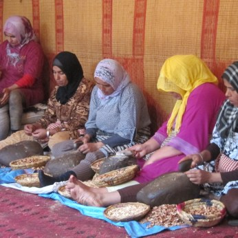 Moroccan ladies showing how it is done