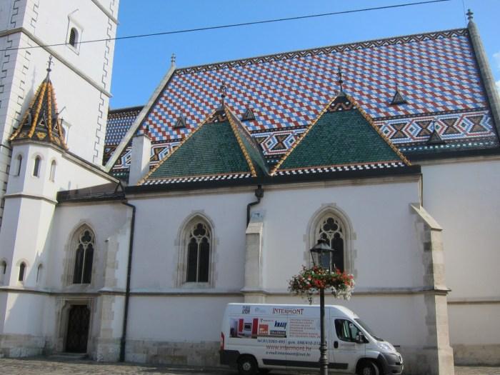 St Marks Church Zagreb