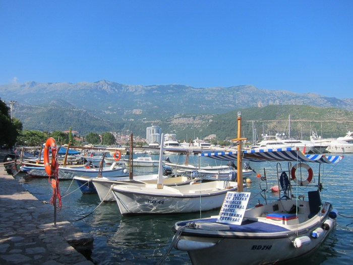 Budva by the water