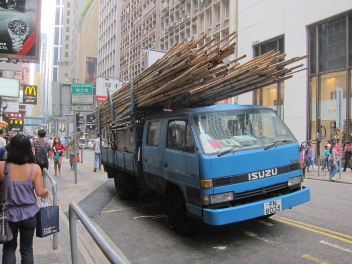 Bamboo truck