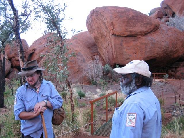 Uluru Snake Head