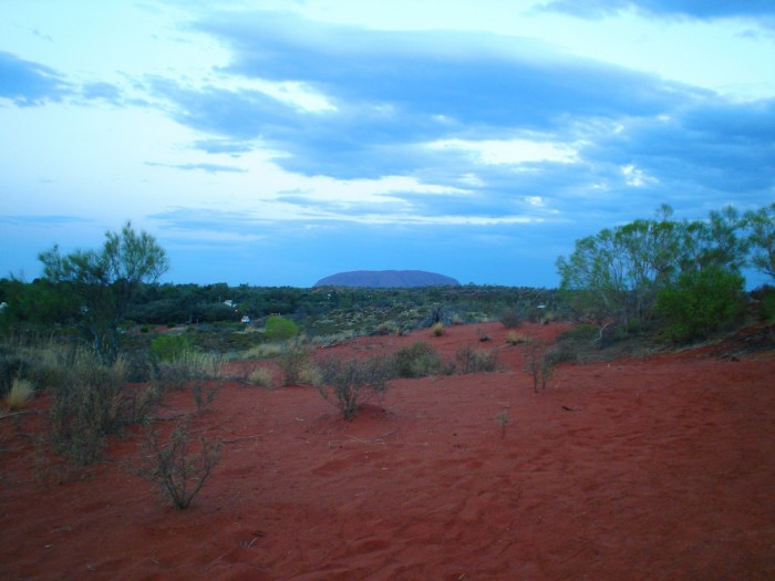Uluru distance