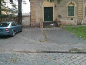 Parkolás a vágóhídnál