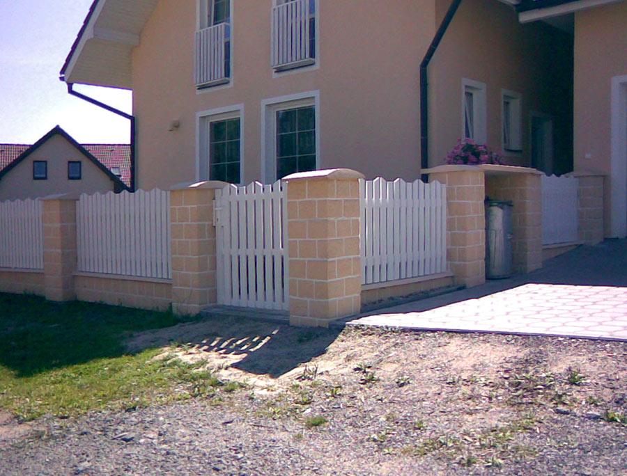 sztachety na ogrodzenie