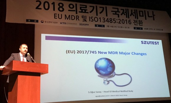 Szutest Güney Kore Medikal Cihaz Üreticilerini Bilgilendirdi