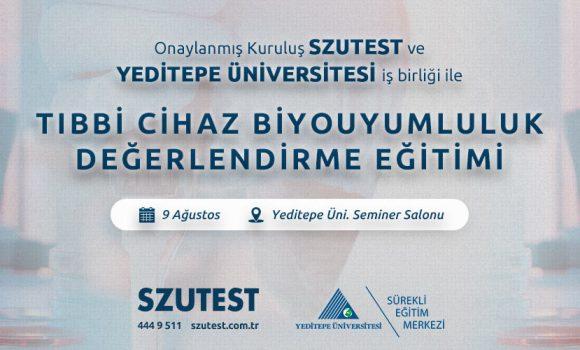 Szutest – Yeditepe Üniversitesi İş Birliği ile Medikal Cihaz Biyouyumluluk Değerlendirme Eğitimi