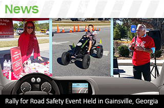 Rall for Road Safety Event Held in Gainsville, Georgia