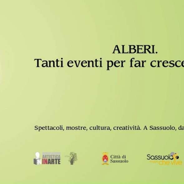 Progetto di comunicazione festival Alberi Sassuolo