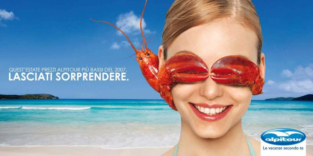 Alpitour Sorpresa - Poster e Print advertising
