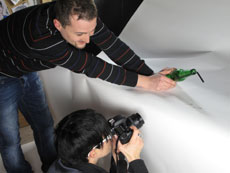Don't drink'n'drive - Scatti fotografici realizzati nel corso tenuto dal copywriter Diego Fontana