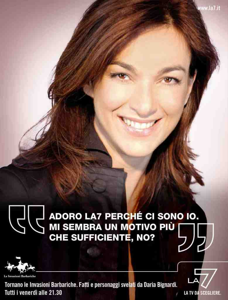 La7 Scelte - Print advertising