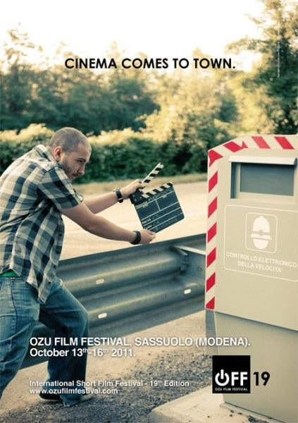 campagna di comunicazione per ozu film festival a cura di diego fontana copywriter
