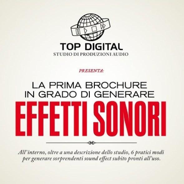 Brochure topdigital creatività a cura di Diego Fontana copywriter