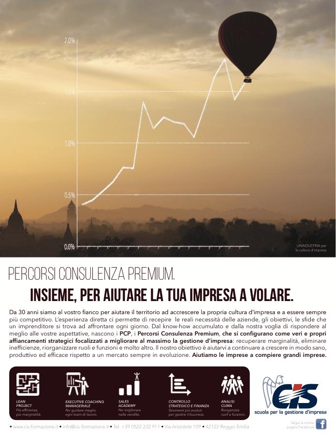 Pagina Stampa per servizi CIS Unindustria per la cultura d'impresa di TERRA