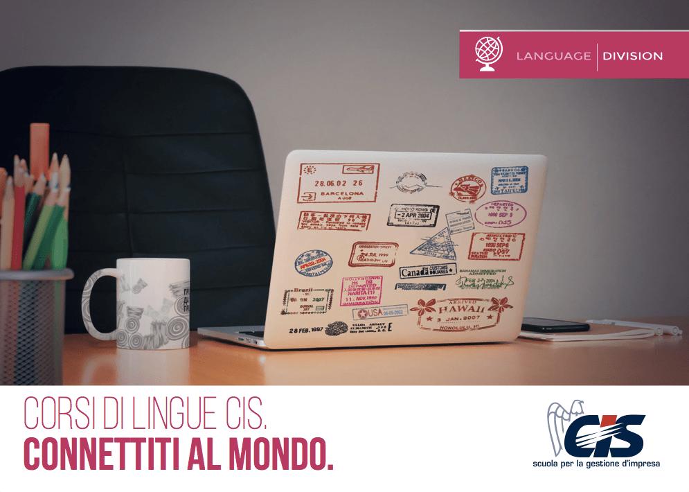 Postcard per CIS Reggio Emilia: Language Division