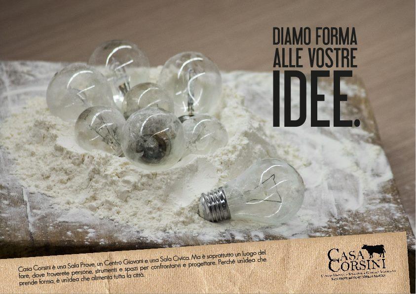 Casa Corsini - Laboratori, corsi e workshop di comunicazione a cura di Diego Fontana