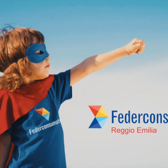 Spot tv territoriale per Federconsumatori Reggio Emilia