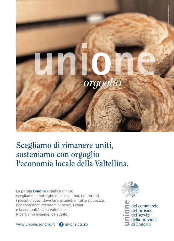 Campagna integrata per Unione CTS Sondrio Daniela Marsetti e Diego Fontana