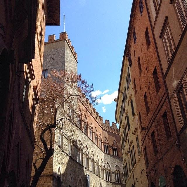 Siena via principale