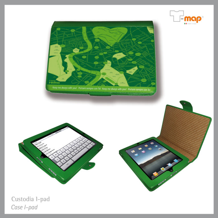 cover laptop T-map design