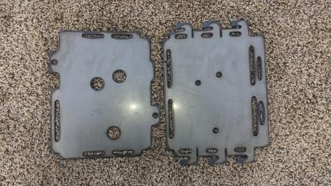 steel battery tray