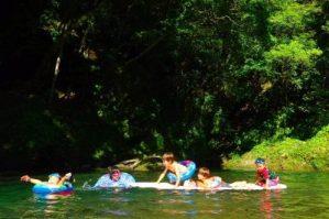 西米良 川遊び