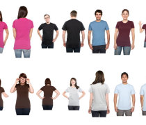 Photo t-shirt template models